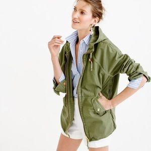 J Crew Convertible zip anorak jacket